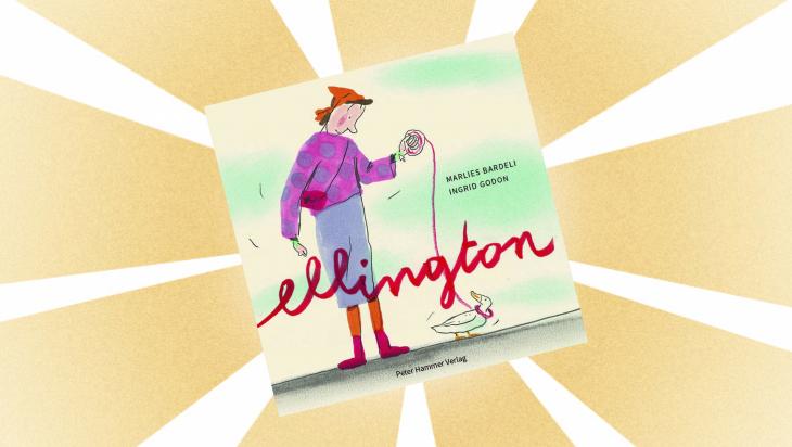 Kinderbuch: ellington / Cover: Peter Hammer Verlag