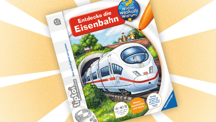 "Kinderbuch ""Entdecke die Eisenbahn"" / Cover: Ravensburger Buchverlag"