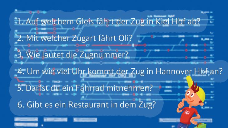 Fahrplanspiel Fragen; Bild: DB AG/Titus Ackermann