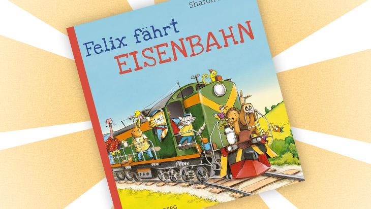 """Kinderbuch """"Felix fährt Eisenbahn"""" / Cover: Gerstenberg Verlag"""