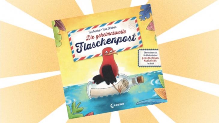 Kinderbuch: Die geheimnisvolle Flaschenpost / Cover: Loewe Verlag GmbH