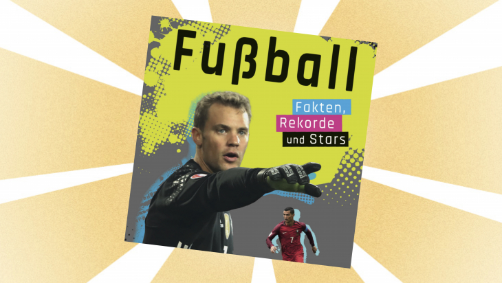 Kinderbuch: Fußball: Fakten, Rekorde und Stars / Cover: Ravensburger