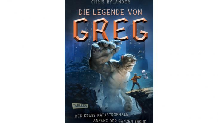 Die Legende von Greg 1: Der krass katastrophale Anfang der ganzen Sache; Bild: CARLSEN