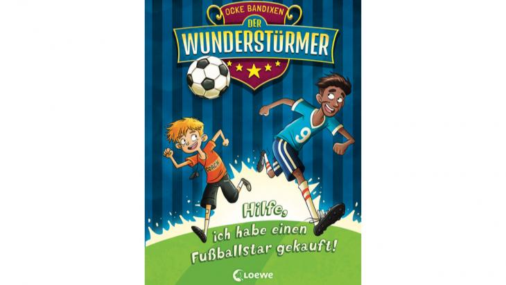 Der Wunderstürmer: Hilfe, ich habe einen Fußballstar gekauft!; Bild: Loewe