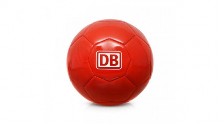 Fußball; Bild: DB AG
