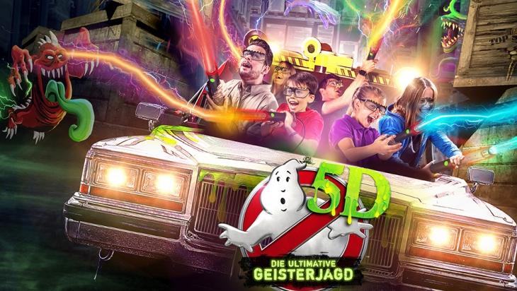 Ghostbusters 5D © Heide Park Soltau
