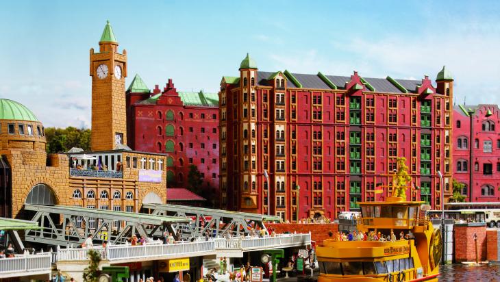 Hamburg Speicherstadt; Bild: Miniatur Wunderland
