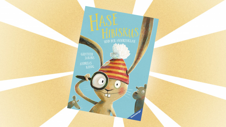 Kinderbuch: Hase Hibiskus und der Möhrenklau / Cover: Ravensburger