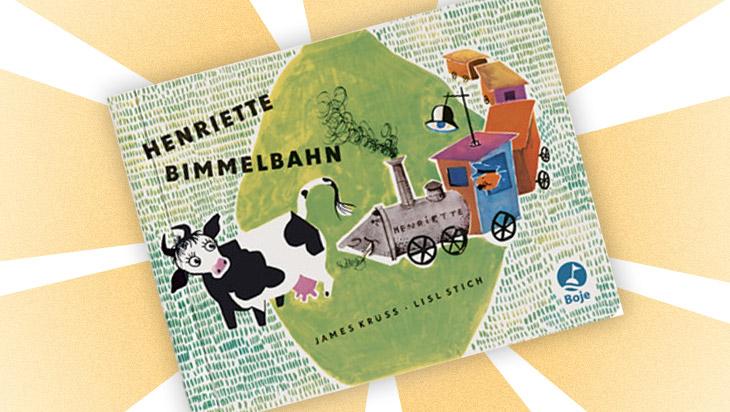 """Kinderbuch """"Henriette Bimmelbahn"""" / Cover: Boje Verlag"""