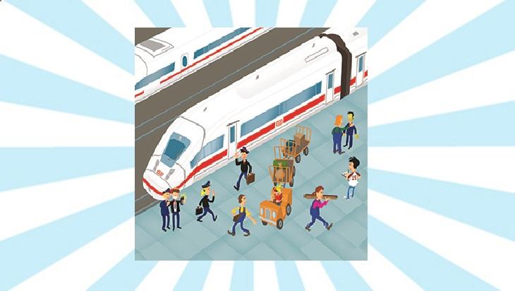 Bahn-Memo-Karten ICE; Bild: DB AG/ Titus Ackermann