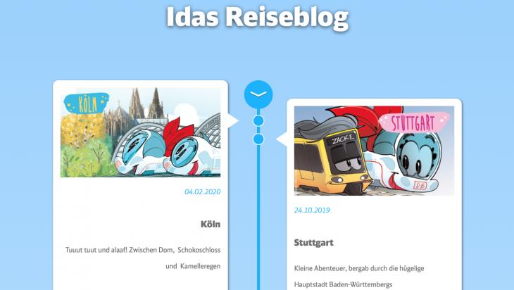 Idas Reiseblog; Bild: DB AG