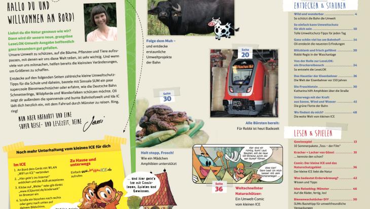 Inhaltsverzeichnis LeseLOK; Bild: DB AG