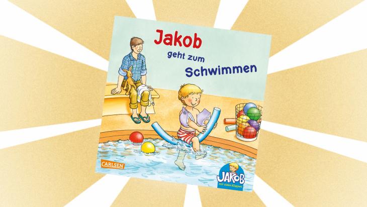 Kinderbuch: Jakob geht zum Schwimmen / Cover: Carlsen