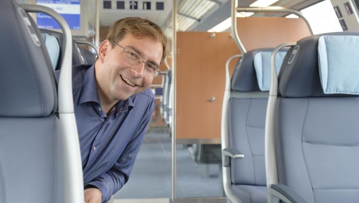 Mathias Semrau ist Produktmanager der neuen IC-Züge