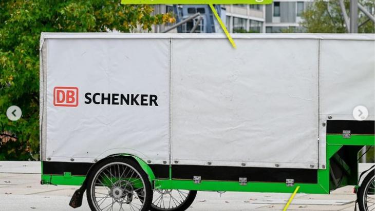 Lastenrad Teil1; DB Schenker; Max Lautenschläger