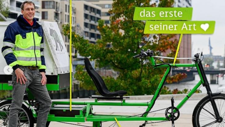 Lastenrad Teil2; DB Schenker; Max Lautenschläger