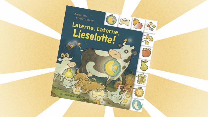 Kinderbuch: Laterne, Laterne, Lieselotte! / Cover: Fischer Sauerländer