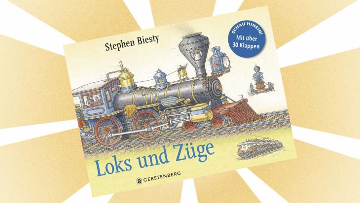 """Kinderbuch """"Loks und Züge"""" / Cover: Gerstenberg Verlag"""