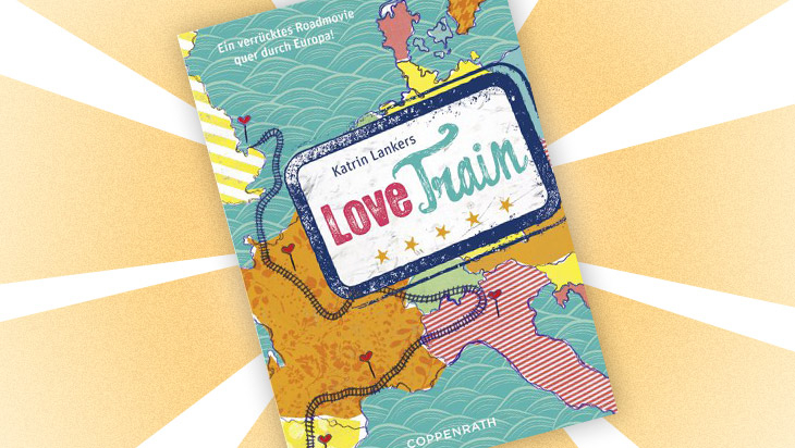 """Jugendbuch """"Love Train"""" / Cover: Coppenrath Verlag"""
