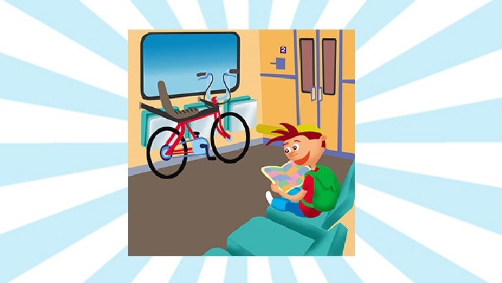 Bahn-Memo-Karte Auch dein Rad kann mit; Bild: DB DG / Titus Ackermann
