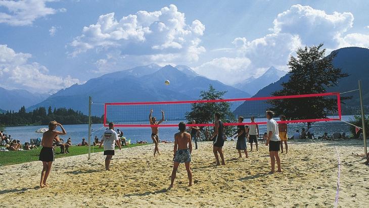Beachvolleyball am Zeller See © Österreich Werbung / Niederstrasser