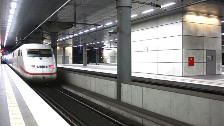 Olis Zug fährt ab © DB AG