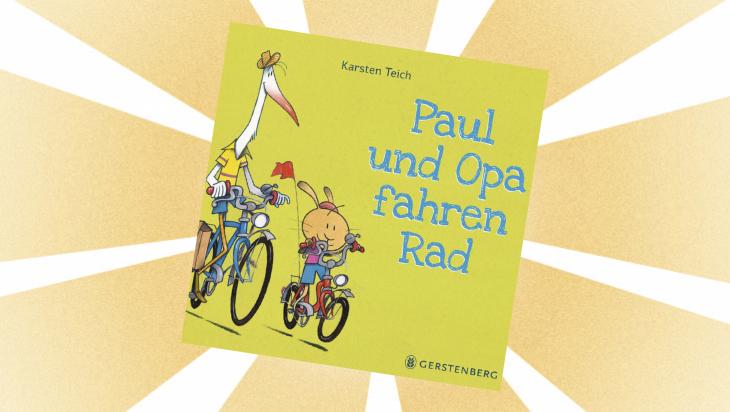 Kinderbuch: Paul und Opa fahren Rad / Cover: Gerstenberg
