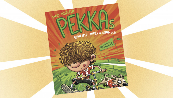Kinderbuch: Pekkas geheime Aufzeichnungen / Cover: dtv