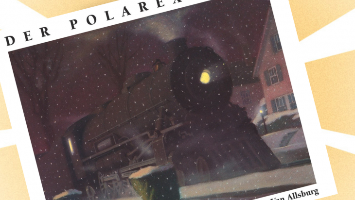"Kinderbuch: ""Polarexpress"" / Cover: Aladin"