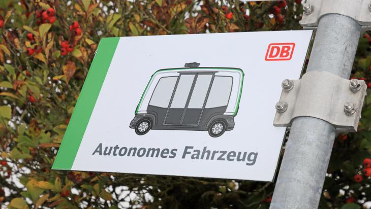 Autonomes Fahren / Foto: DB AG/Uwe Miethe