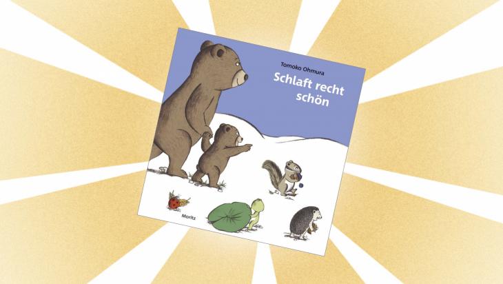 Kinderbuch: Schlaft recht schön / Cover: Moritz Verlag