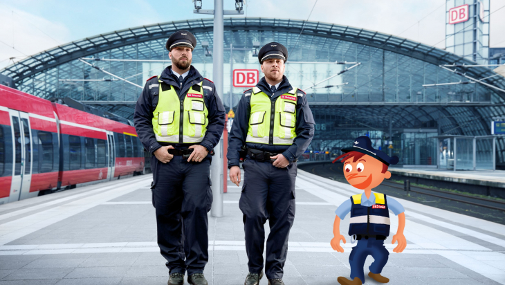 DB Sicherheit; Foto: DB AG / Marcus Ewers