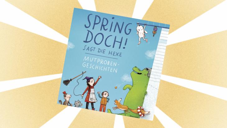 Kinderbuch: Spring doch! / Cover: dtv Verlagsgesellschaft