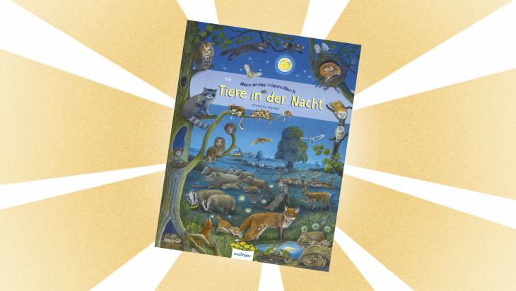 Kinderbuch: Tiere in der Nacht / Cover: Esslinger
