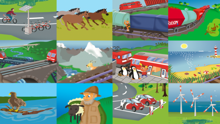 Wie schützt die Bahn die Umwelt? / Bild: DB AG/Titus Ackermann