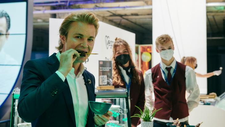 Nico Rosberg; Bild: DB AG / Dominic Dupont (DB200971)