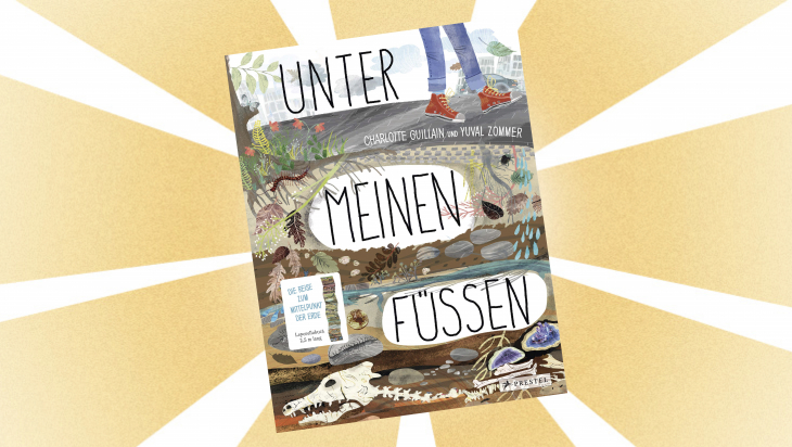 Kinderbuch: Unter meinen Füßen / Cover: Prestel Verlag