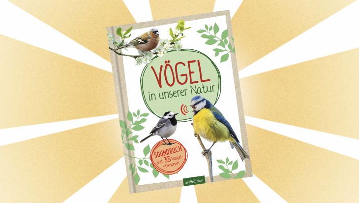 Kinderbuch: Vögel in unserer Natur / Cover: arsEdition