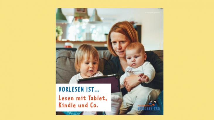 Was bedeutet Vorlesen?; Bild: Stiftung Lesen / Alexander Dummer