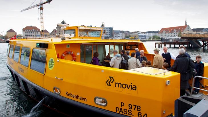 Wassertaxi-Fahrer in Dänemark © DB AG/Bartlomiej Banasza
