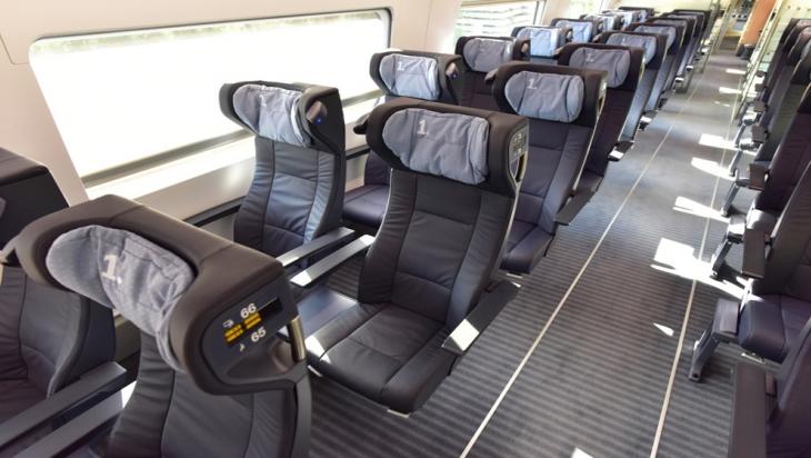 1. Klasse im neuen ICE 4; Bild: DB AG