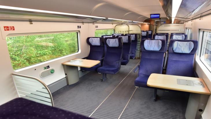 Rollstuhlplätze im ICE 4; Bild: DB AG