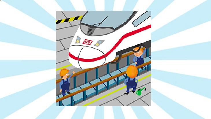 Bahn-Memo-Karten Zugwerkstatt; Bild: DB AG/ Titus Ackermann