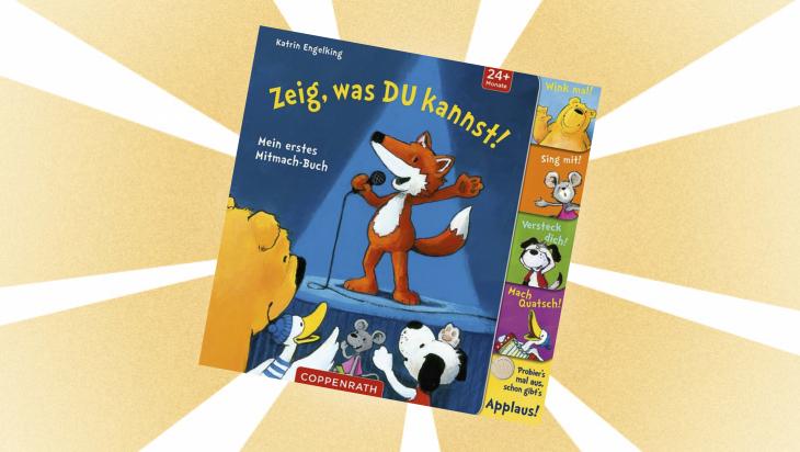 Kinderbuch: Zeig, was du kannst! / Cover: Coppenrath