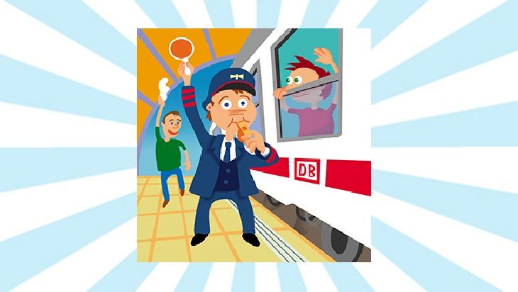 Bahn-Memo-Karte Zugbegleiter; Bild: DB DG / Titus Ackermann