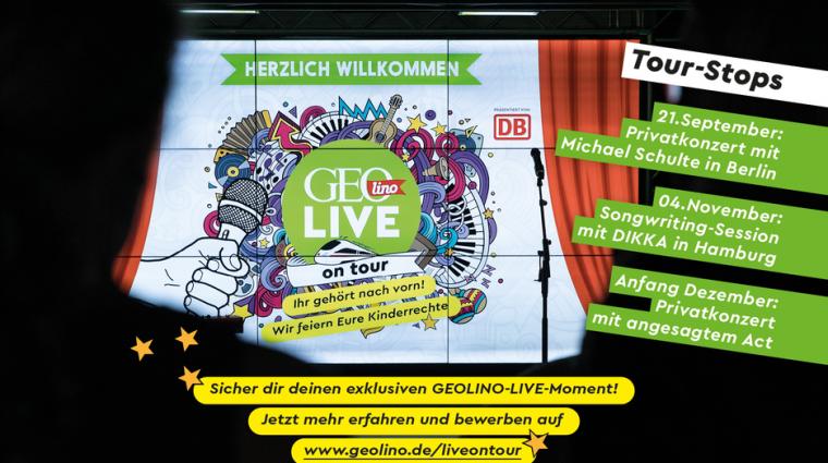 GEOlino LIVE on tour; Bild: GEOlino LIVE
