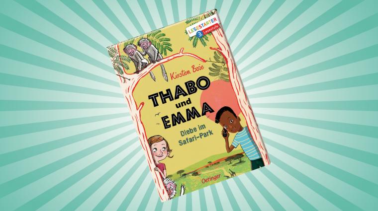 Thabo und Emma; Bild: Oetinger
