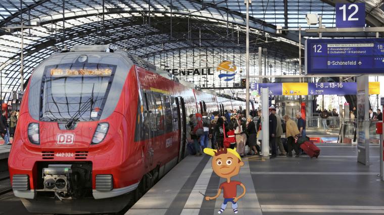 Bahnsteig; Bild: DB AG / Martin Busbach / Titus Ackermann