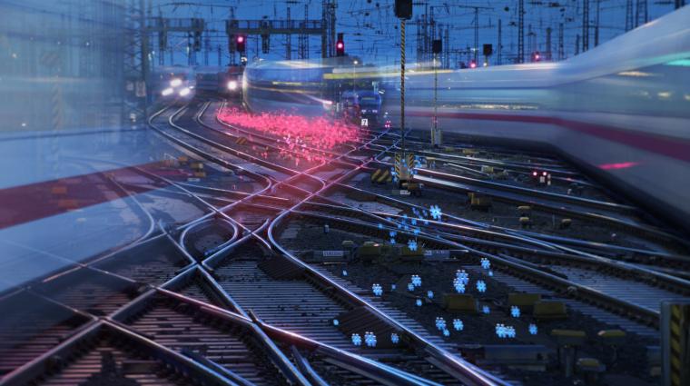 Digitale Schiene Deutschland; Foto: DB AG / Max Lautenschläger