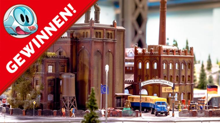 Ein Blick nach Knuffingen; Bild: Miniatur Wunderland Hamburg